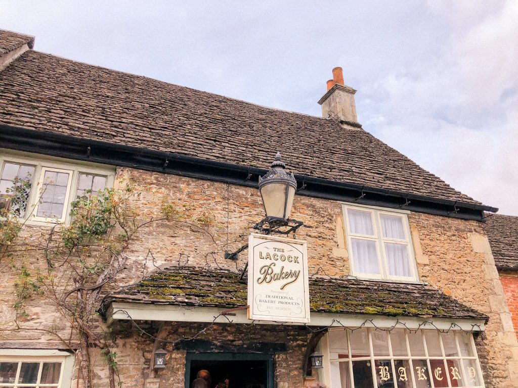 Lacock Bakery, Bakery in Cotswolds, Lacock, Wiltshire, Cotswolds, UK, National Trust, England, English Countryside