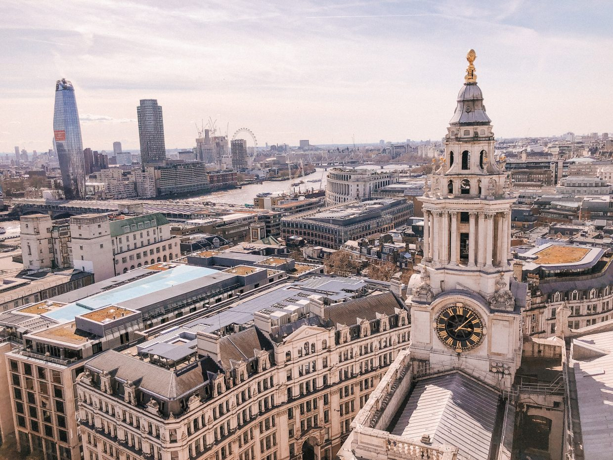 View from St. Paul's Cathedral observation deck