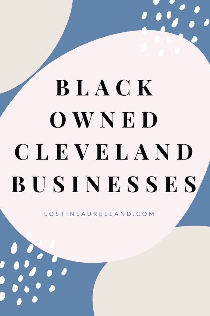Support Local Ohio. Black owned businesses in Cleveland Ohio. Female owned brands in Ohio. Shop small Northeast Ohio.
