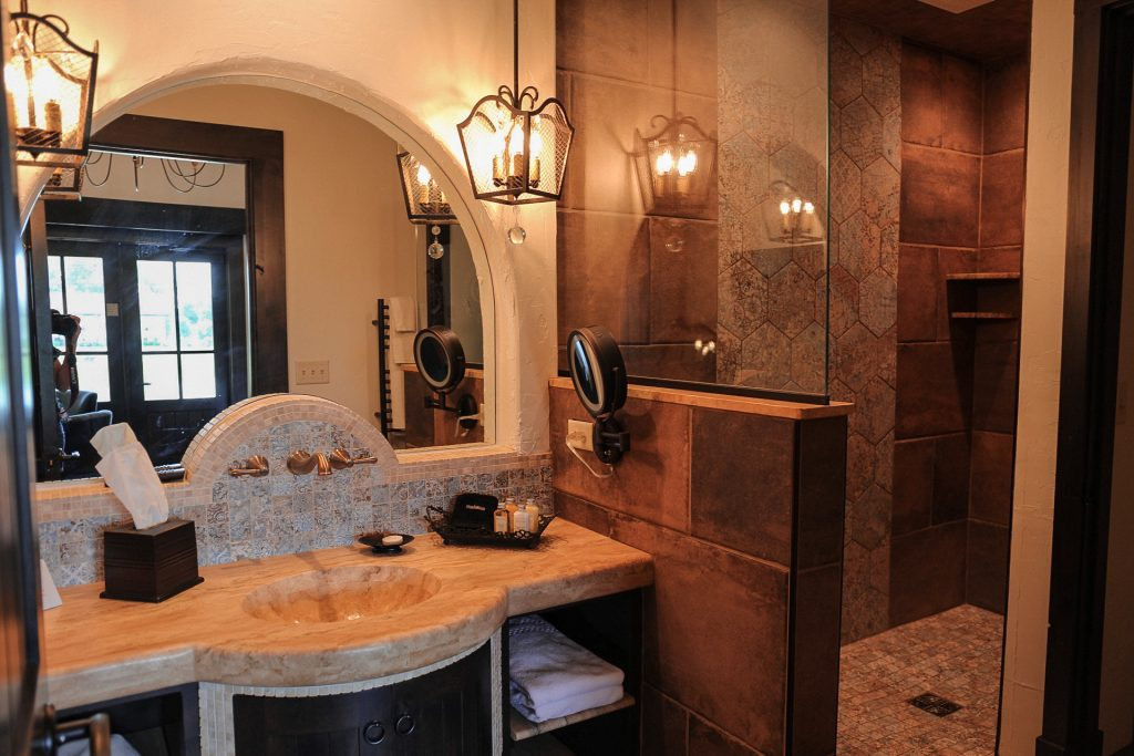 The Casa King Size Suite at Gervasi Vineyard in North Canton, Ohio