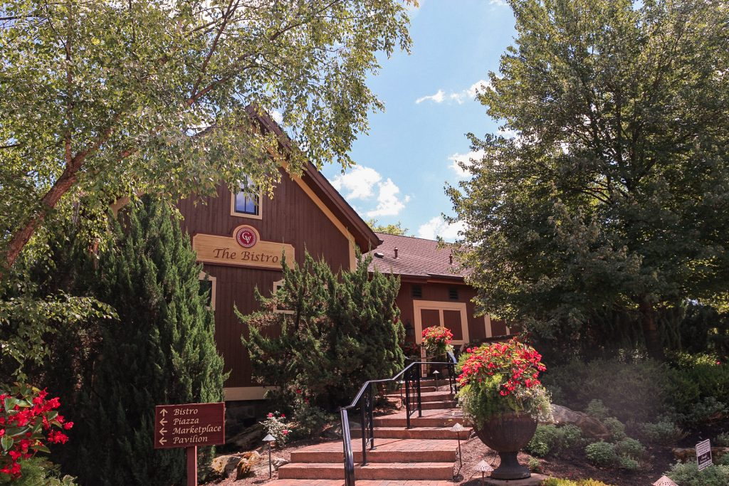 The Bistro - Romantic Gervasi Vineyard Staycation in North Canton, Ohio. The perfect getaway in Ohio.