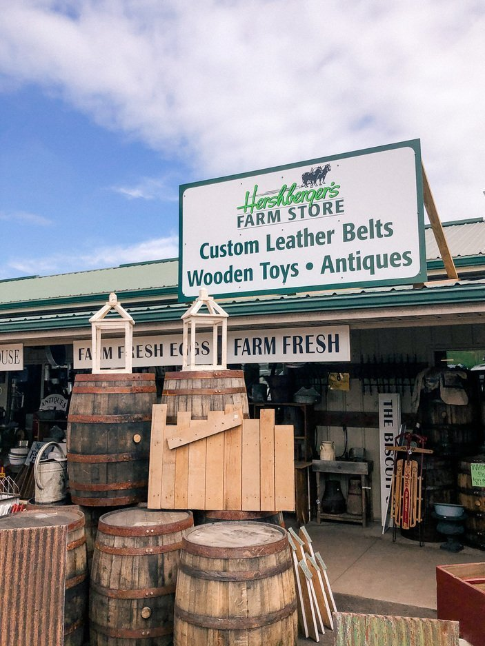 Hershberger's Farm Store in Ohio's Amish Country