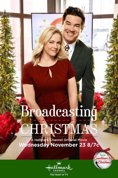 Broadcasting Christmas Hallmark movie