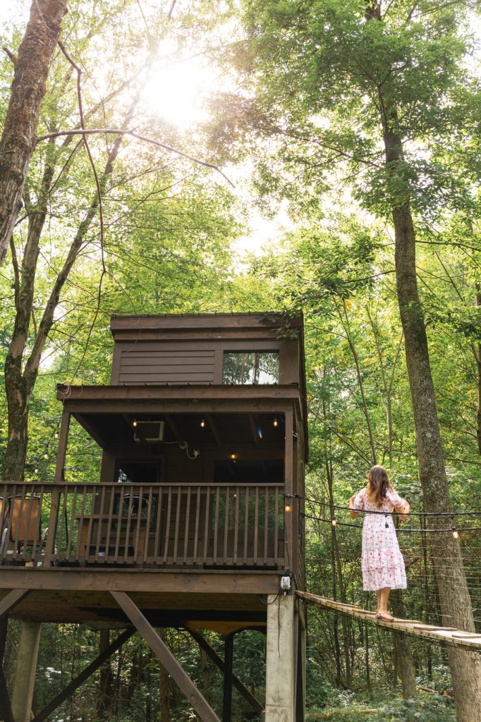 Dwell Box Treehouse Village in Ohio - The Shack