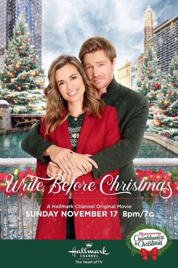 Write Before Christmas Hallmark Movie