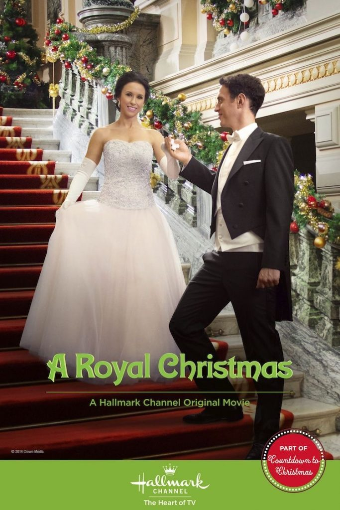 A Royal Christmas movie on Hallmark