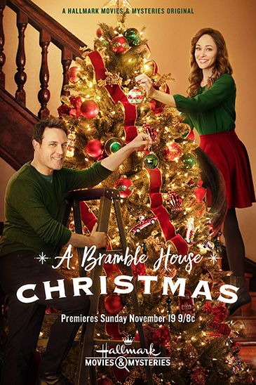 A Bramble House Christmas Hallmark Movie Poster