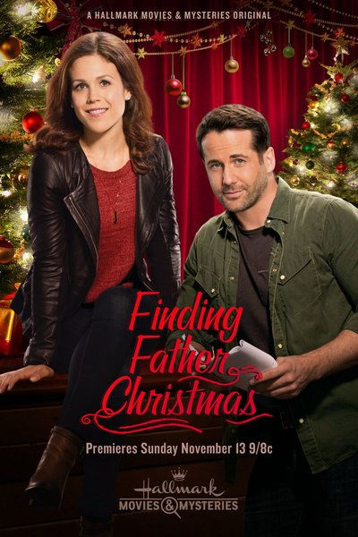 Finding Father Christmas Hallmark Movie Poster