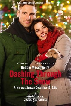 Debbie Macomber's Dashing Through the Snow Hallmark Movie Poster