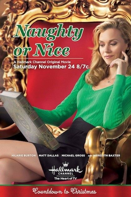 Naughty or Nice Hallmark Movie Poster