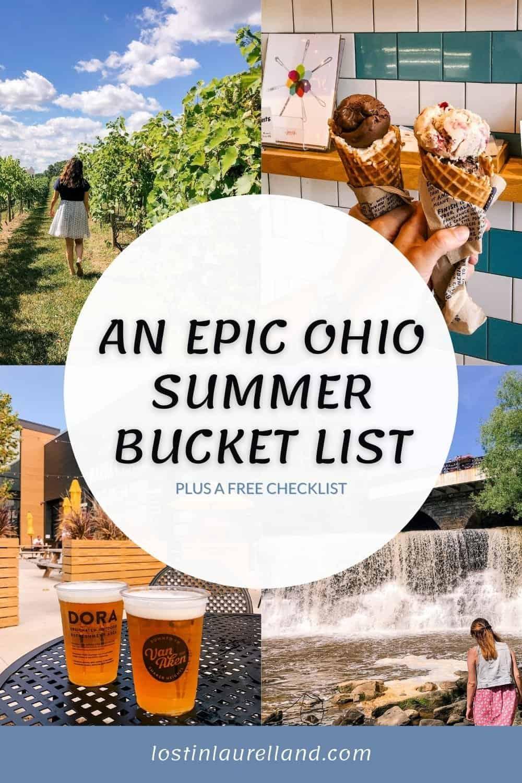 Epic Ohio Summer Bucket List