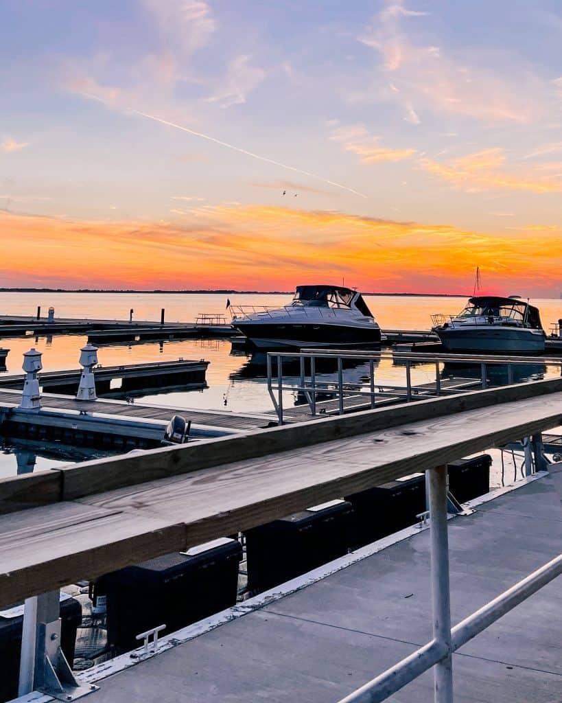 Kelleys Island sunset